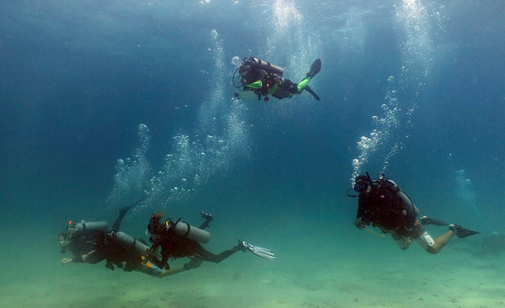 idckohtao.com-padi-underwater-navigation-instructor-specialty-courses