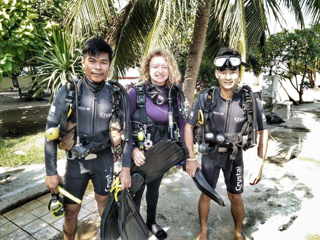 crystaldive.com marine conservation koh tao jenny dowling