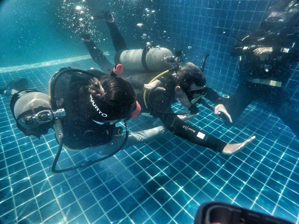 crystaldive.com new padi diving instructor koh tao