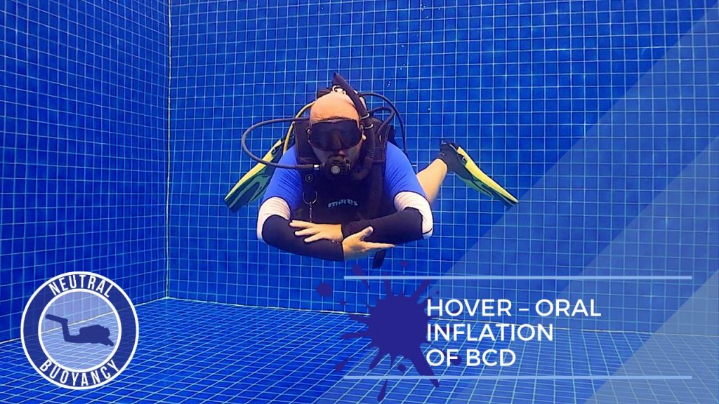 idckohtao.com divemaster skills in neutrally buoyant Hover for 60 seconds