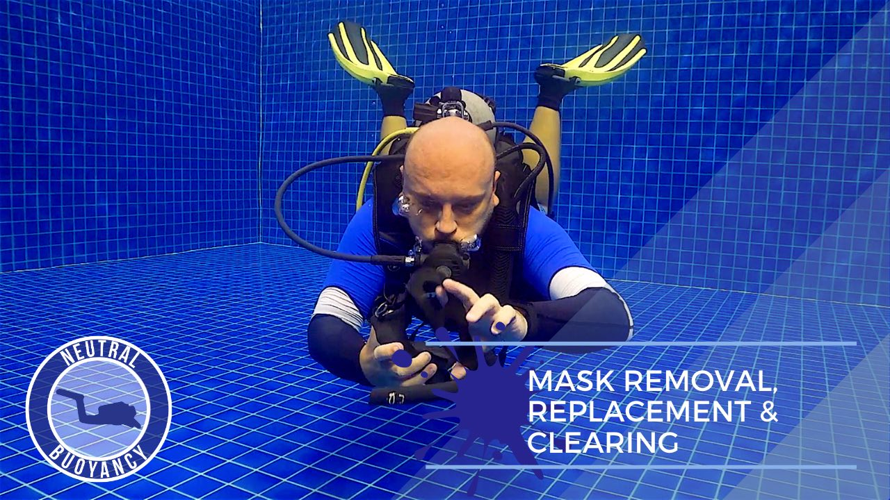 idckohtao.com divemaster skills in neutrally buoyant Mask removal and replace