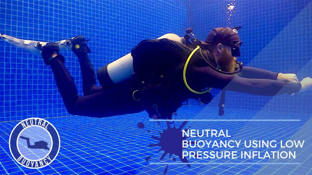 idckohtao.com divemaster skills in neutrally buoyant Neutral buoyancy, rise and fall – using low pressure inflation