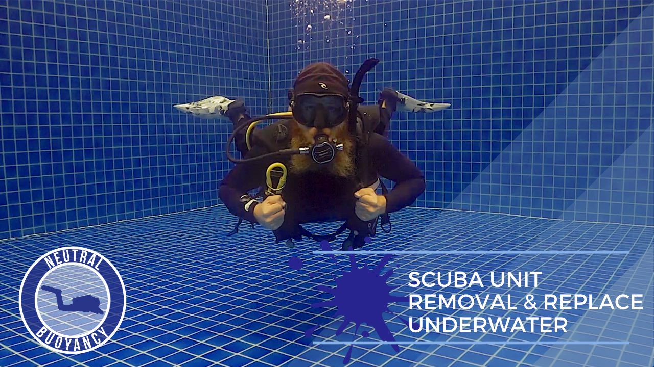 idckohtao.com divemaster skills in neutrally buoyant scuba unit removal and replace Equipment underwater