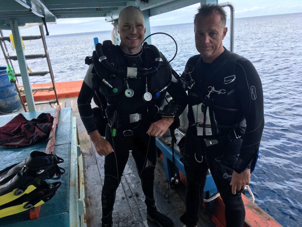 idckohtao.com padi diving instructor course thailand