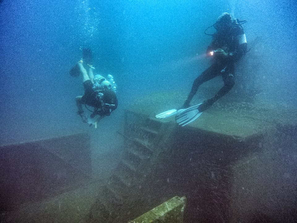 idckohtao.com padi instructor course thailand wreck diving