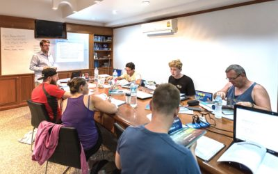 10 Top Tips for new PADI Instructors when teaching Student Divers