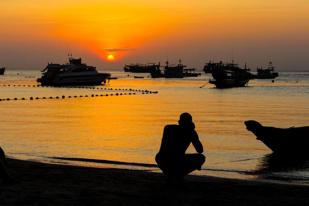 idckohtao.com sunset on koh tao